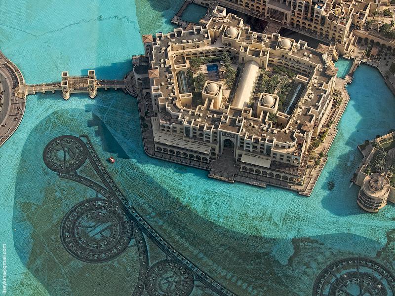 Dubai. View from top of Burj Khalifa