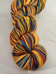 Rock your socks off- Custom sock yarn