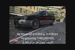 My Drift in FORZA3 GTR R34 (Tareq Abuhajjaj   Photography & Design) Tags: drift gtr r34 my forza3 tareqmoon tareqdesign