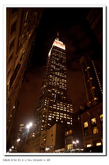 The Empire State Building at night (Terry Lu) Tags: usa newyork 2010