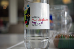 National Multicultural Festival - Water (Kincuri) Tags: water festival bottle canberra multicultural nationalmulticulturalfestival lumixgf1 20mmf17