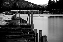 Lake side (cah_1) Tags: longexposure blackandwhite laketahoe nd southlaketahoe canonef50mmf14usm ndfilter daytimelongexposure canoneos50d neutraldenistyfilter