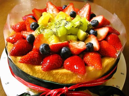 フルーツティラミスケーキ