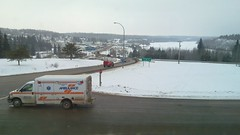 Town of Athabasca (looking westward)
