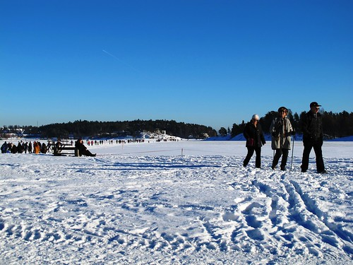 Sunny winter Sunday in Oslo Norway #7