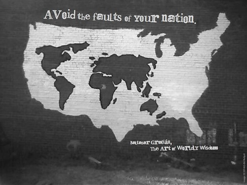 Wednesday Wisdom - Avoid the faults of your nation