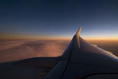 Sunset enroute MEL-SYD (Nick Young Photos) Tags: australia boeing qantas 1022 737 737800 738 vhvzb