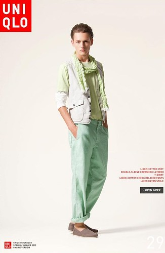 UNIQLO 0248_LOOK BOOK 2010 SPRING_Jakob Hybholt