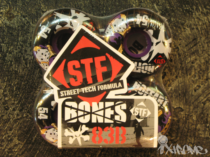 Bones STF Wheels (Purple Edition)