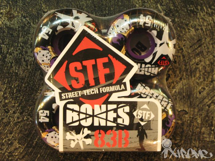 Bones STF Wheels (Purple Edition)