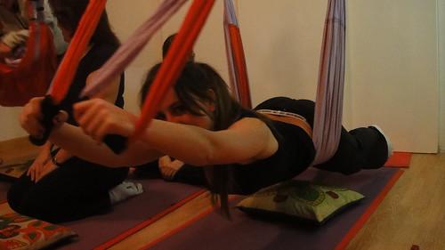 Descubre el Yoga Swing (Yoga en el Aire),  en Madrid!