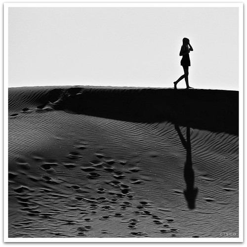 'Walking on the shadow' by cisco 