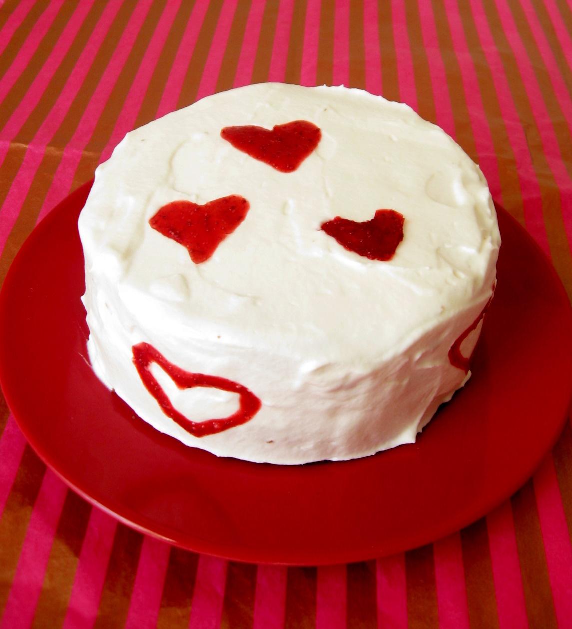Couple's Velvet Cake