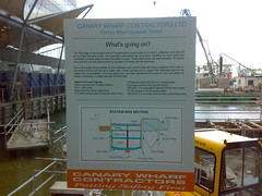 Crossrail sign - What's going on