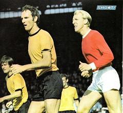 Wolves v Man Utd 1969 (bullfield) Tags: derekdougan