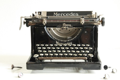 Mercedes No.5 typewriter 11/13