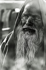 The Sage [..Tangail, Bangladesh..] (Catch the dream) Tags: old man reflection film look beard smoke oldman sage holy wisdom bangladesh hoary absentminded tangail supershot sagacious gettyimagesbangladeshq2