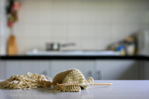 incidental knitting