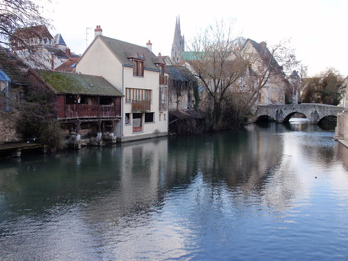 Chartres Eure River