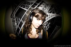 (MaiZeta) Tags: music paris color canon fisheye toureiffel torreeiffel elia cuadro peleng ojodepez canoneos400d maiphotography