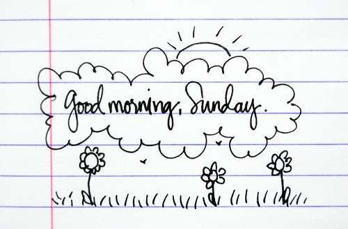 good morning, Sunday::No. 2