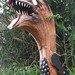 Sea monster carved by Gary Ray, Neah Bay, Wa USA