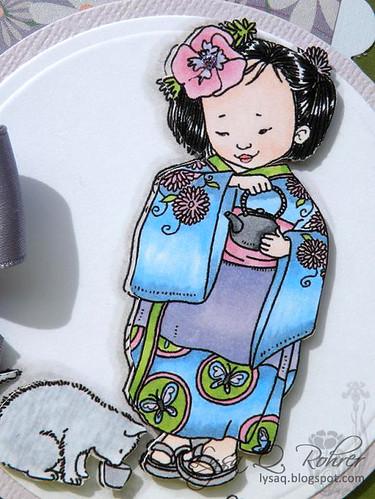 Little Kimono Girl