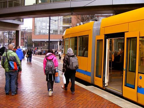 Yellow Streetcar, Portland State