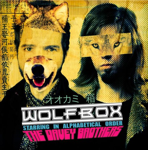 The Davey Brothers - WolfBox (CD)