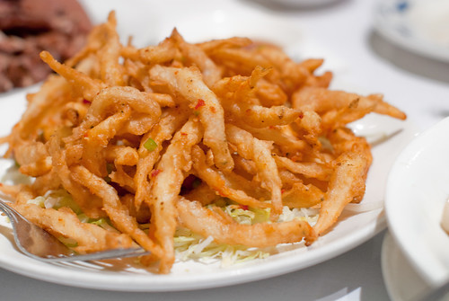 Deep Fried White Bait (Bak Fan Yu) with Spicy Salt