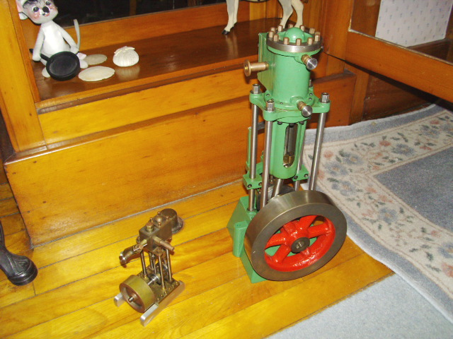 A couple of Dad's Steam Engines