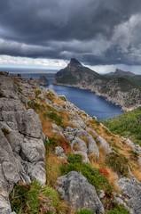 Cap de Fermentor - Mallorca (HDR) (farbspiel) Tags: sea clouds photography nikon rocks nikkor mallorca 18200 esp hdr highdynamicrange spanien capdefermentor d90 tonemapped tonemapping nikon18200vr nikond90 detailenhancer klausherrmann