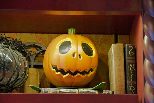 Jack Skellington pumpkin head