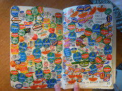 Wreck This Journal - Fruit Stickers