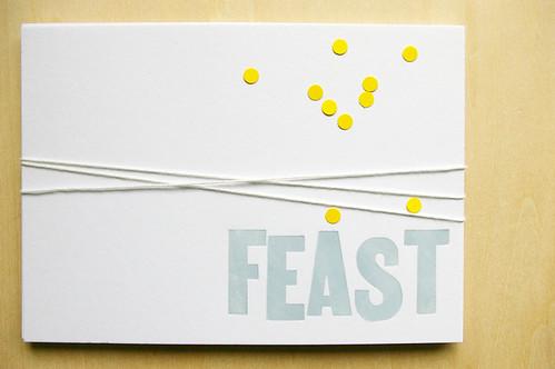 invitation to feast!