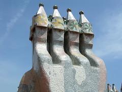 La Padrera - on the roof (jml0466) Tags: barcelona casamil lapedrera