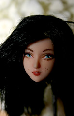 sold on ebay (datumzinebeautifulmemories) Tags: girl ooak barbie dollfie 16th cy jointed repaint obitsu 27cm