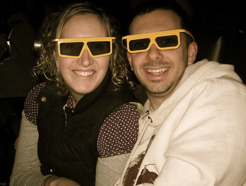 Avatar in 3D on IMAX Kristi/Ben