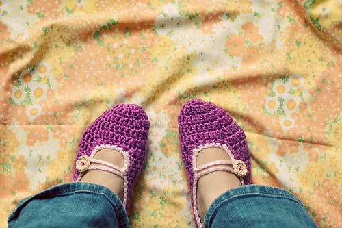flower garden slippers [4]