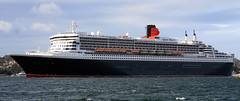 RMS Queen Mary 2 Sydney 2010 (Jon Sant Photography) Tags: cruise ship sydney queenmary rms queenmary2 cunard sydneyharbour 2010 oceanliner flagship