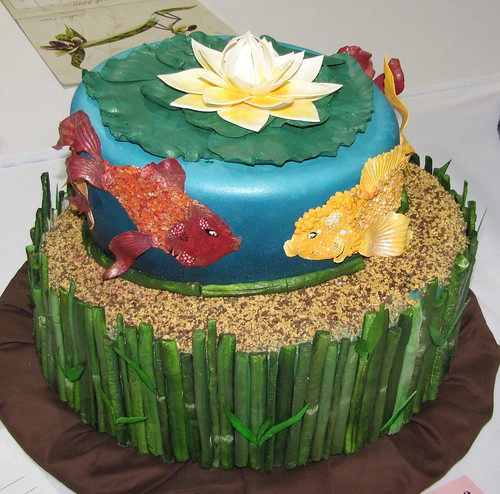 A Koi Cake by Megan Gibson