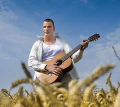 man guitar outdoors (noam.armonn) Tags: life boy summer sky people musician music playing man male guy nature smile field rock youth fun outdoors happy person gold freedom countryside high cool corn arms natural emotion guitar outdoor cords wheat country joy grain young handsome lifestyle happiness sunny farmland rye trendy attractive acoustic string positive joyful excitement
