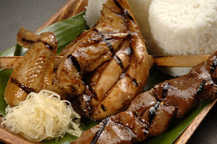 DK Pares Chicken and Pork BBQ Meal