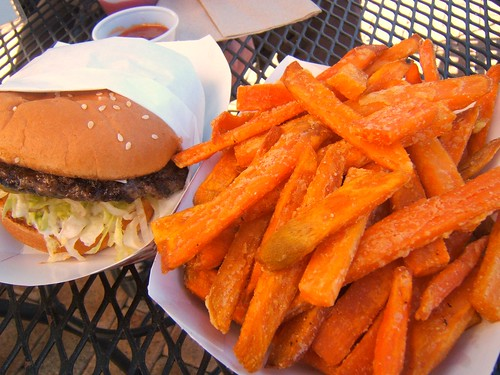 Kahuna Grill - sweet potato fries