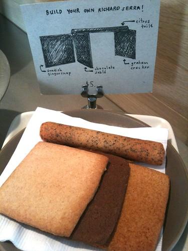 Richard Serra Cookies