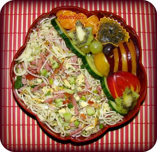 Pasta Salad bento #2 - 11.03.2010