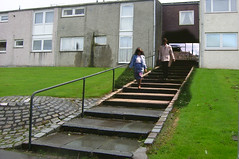 Gregory's girl then in now 1 (Dave S Campbell) Tags: gregorys girl scotland cumbernauld then now film bill forsyth billforsyth setjetting set jetting
