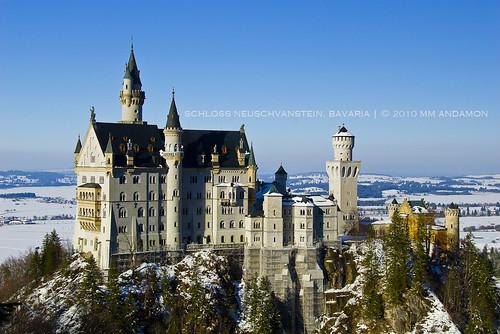 Schloss Neuschvanstein in Bavaria