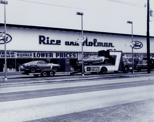 Rice and Holman Ford 1970