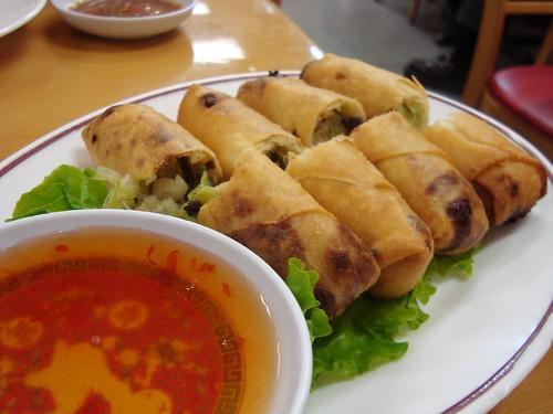 Egg Rolls @ Yai Restaurant